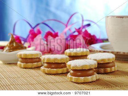 Peruvian Cookie called Alfajor