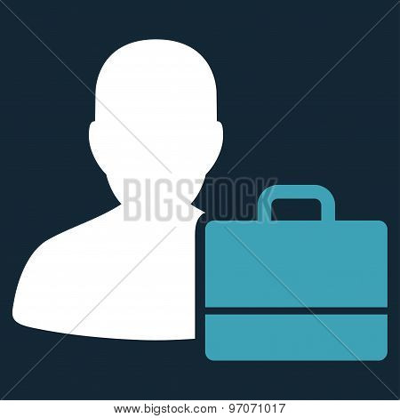 Accounter Flat Icon From Commerce Set