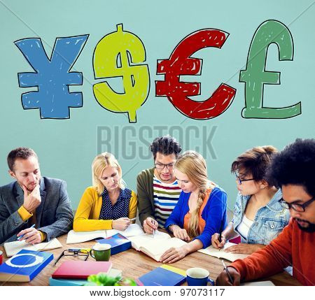 Money Currency Symbol Finance Exchange Concept