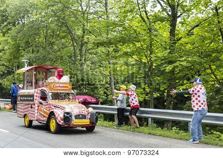 Cochonou Vehicle- Tour De France 2014