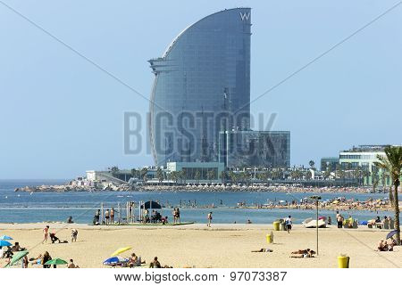 Barceloneta Beach And Hotel Vela