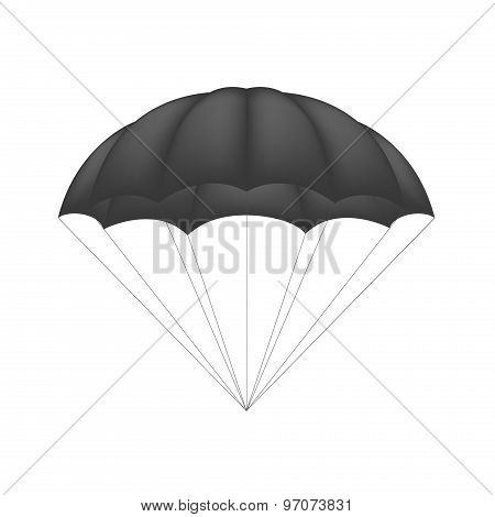 Parachute in black design