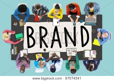 Branding Trademark Marketing Name Concept