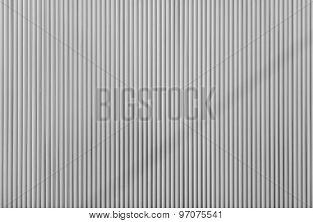 Gray Color Corrugated Texture Of A Surface Iron Leaf