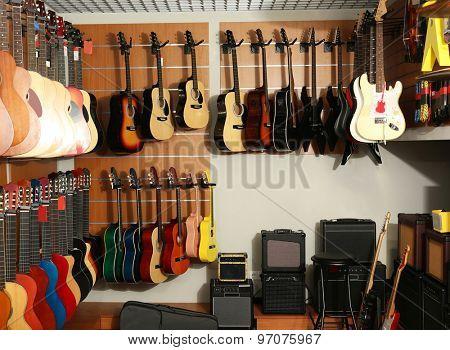 Musical shop