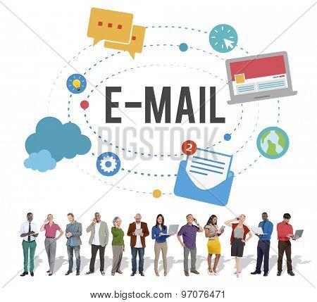 Email Correspondence Communication Digital Concept