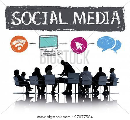 Social Media Connection Communication Technology Network Concept