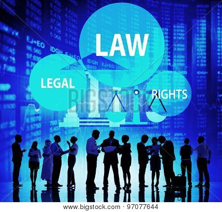 Law Legal Rights Judge Judgment Punishment Judicial Concept