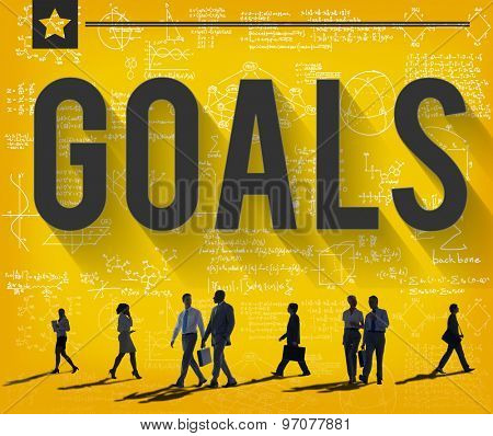 Goals Target Mission Success Inspiration Concept