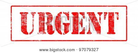 Urgent - Rubber Stamp