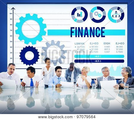 Finance Financial Investment Business Growth Concept