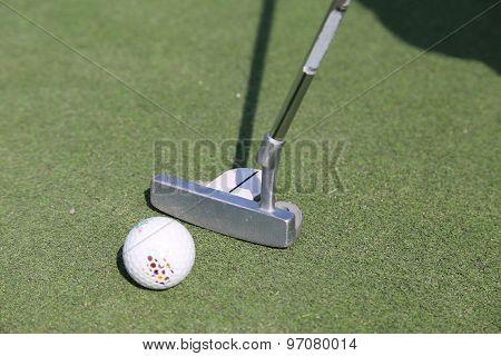 Minigolf clubs
