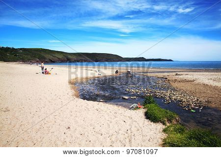 Freshwater Beach, Pembrokeshire, Wales