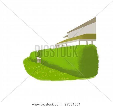 hedge illustration