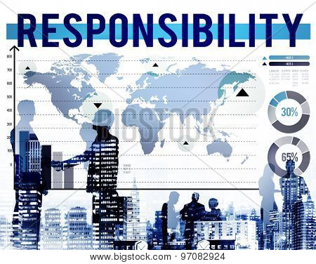 Responsibility Duty Reliable Obligation Trust Concept