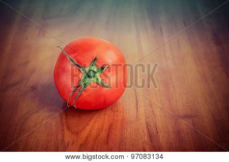 Fresh tomato.