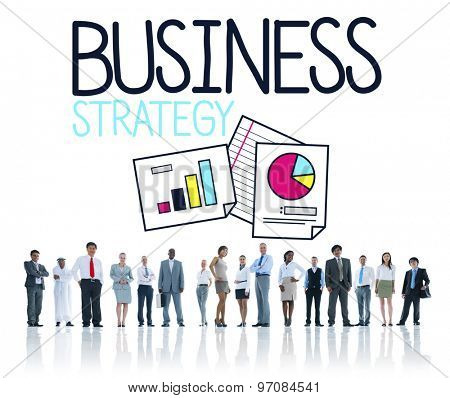 Business Strategy Planning People Concept
