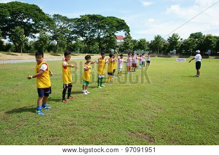 Asian Children, Football, Summer, Kid, Physical Education, Soccer
