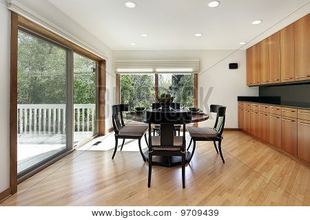 Breakfast Room With Door To Deck