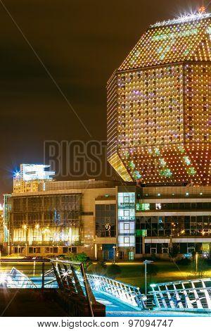 Building - National Library Of Belarus, Symbol Of Minsk