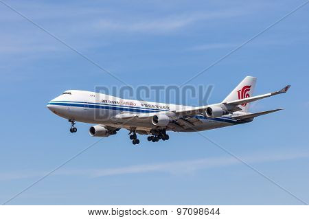 Air China Cargo Boeing 747-400 F