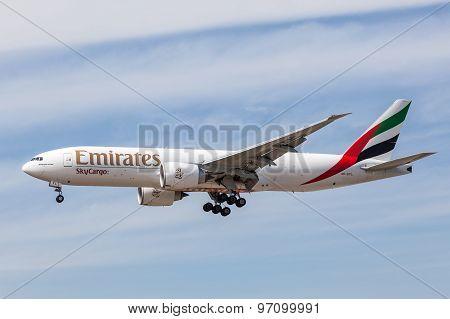 Emirates Skycargo Boeing 777 F