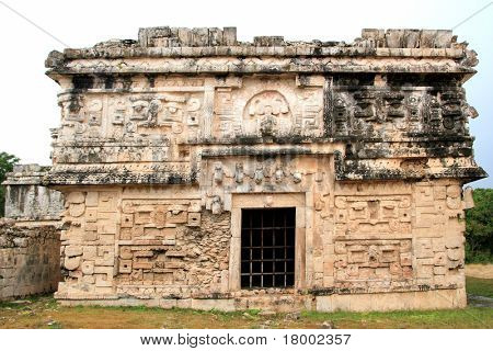 Chichen Itza nun grouping Las Monjas Mayan nunnery Mexico Yucatan