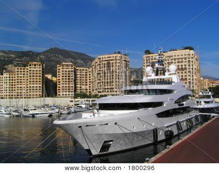 Yacht In Harbour