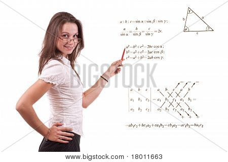 Young Math Teacher