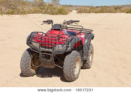 All Terrain Vehicle in Mexican Desert