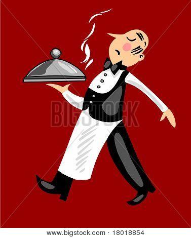 Funny Waiter