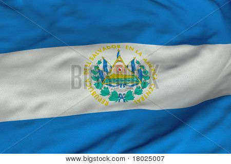Salvadorian Flag