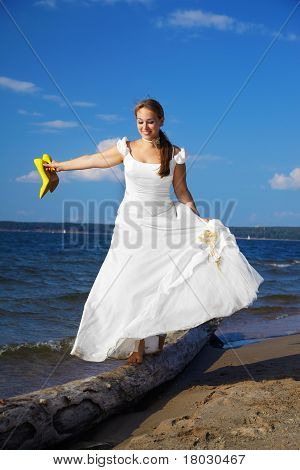 Bride With Yellow Shoes