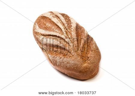 Dark Brown Coarse Grinding Bread Loaf