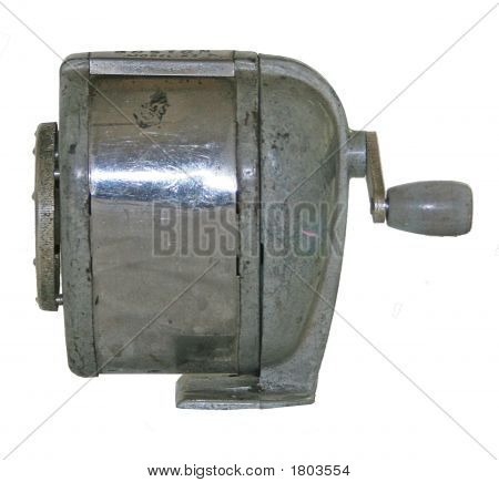 Old Metal Pencil Sharpener