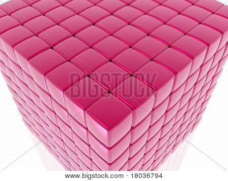Cube close-up