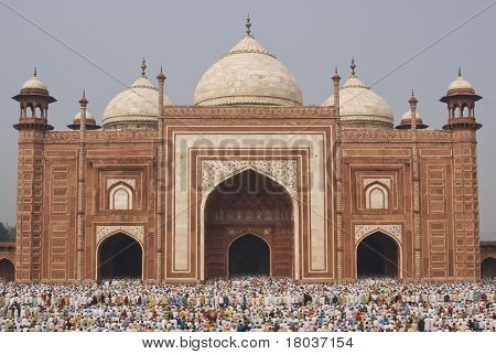 Islamic Festival at the Taj