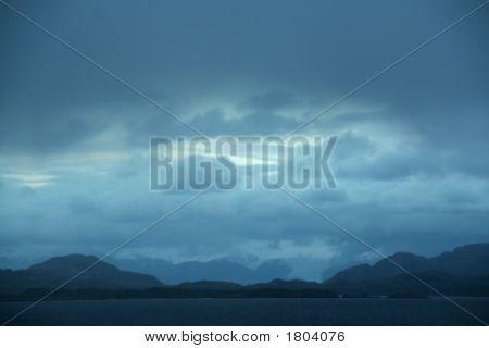 Dark Clouds, Shadowy Blue Ridges