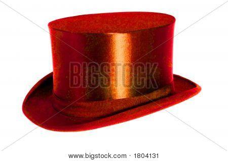 Red Chapeau Claque