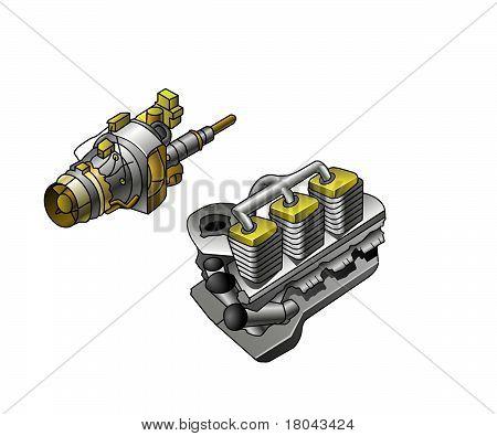 2 engines