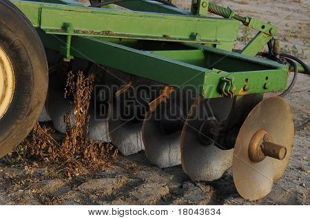 Plough Ready for Use