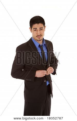 Business Man Button Jacket