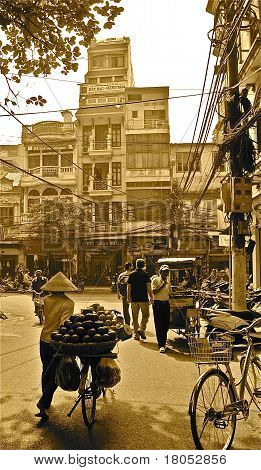 Vietnamese Old Quarter of Hanoi