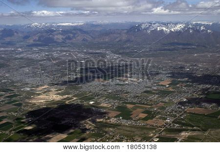 Above Salt Lake City