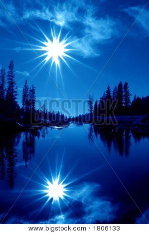 Double Blue Stars