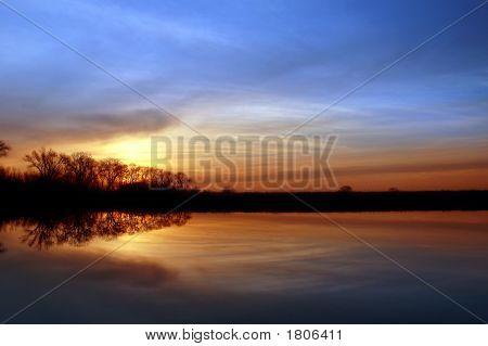 Riparian Sunset