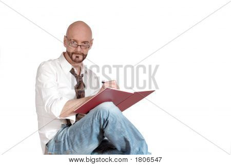 Attractive Middle Aged Businessman