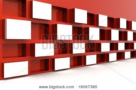 Photo Frame Display Image Brand In White Space