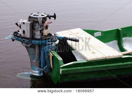 Außenliegende Boot Motor