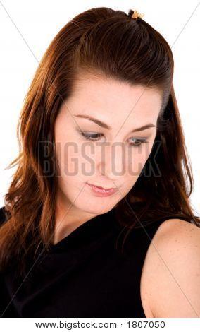 Weibliche Portrait - Traurigkeit